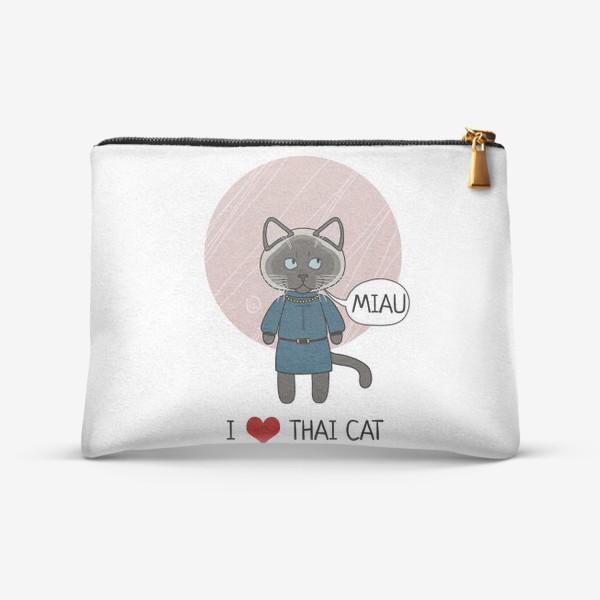 Косметичка «Тайская кошка»