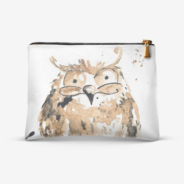 Косметичка «Coffee owl»