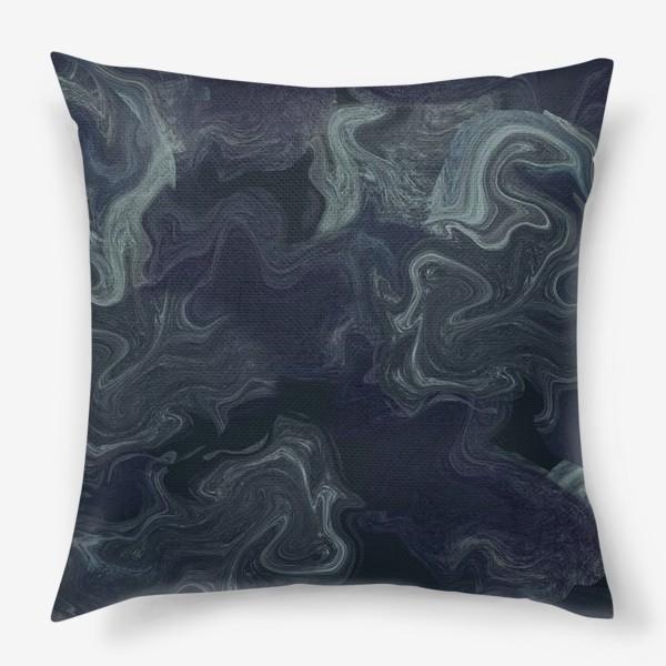 Подушка «мрамор»