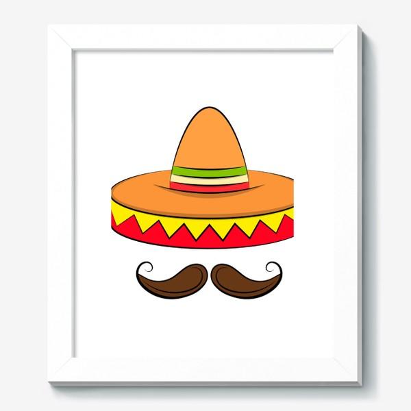 Картина «Mexican sombrero v2»