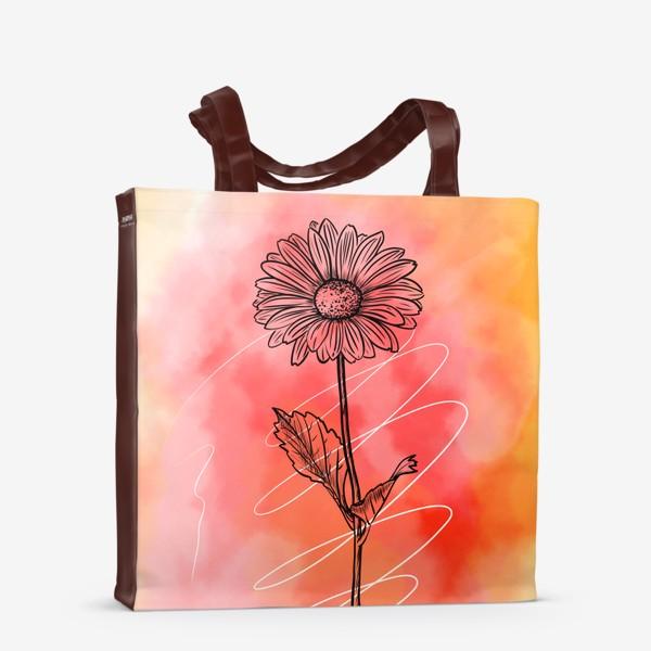 Сумка-шоппер «Цветок»