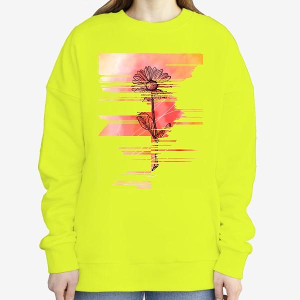 Свитшот «Цветок»