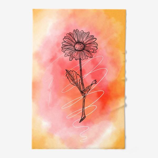 Полотенце «Цветок»