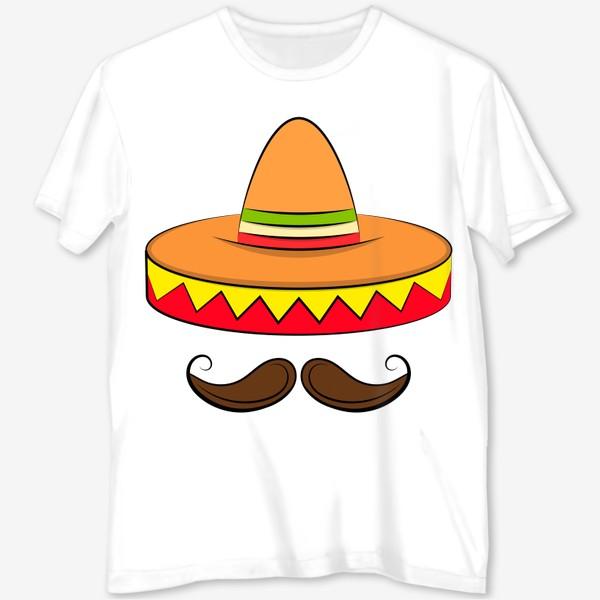 Футболка с полной запечаткой «Mexican sombrero v2»