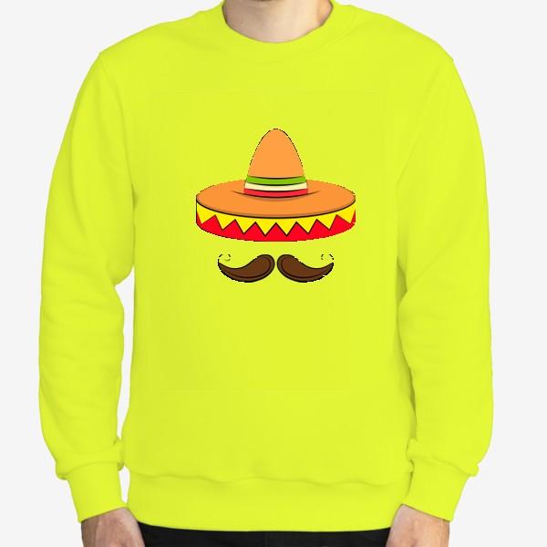 Свитшот «Mexican sombrero v2»