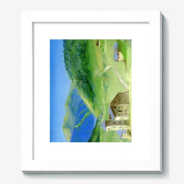 Картина «Французские Альпы»