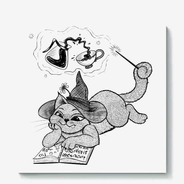 Холст «Кот-чародей»