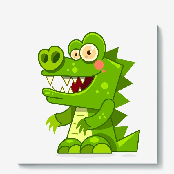 Холст «crocodile»