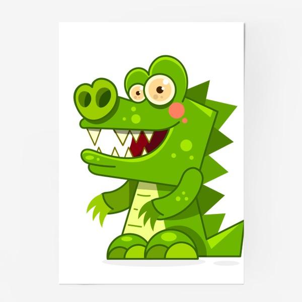 Постер «crocodile»