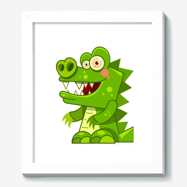 Картина «crocodile»