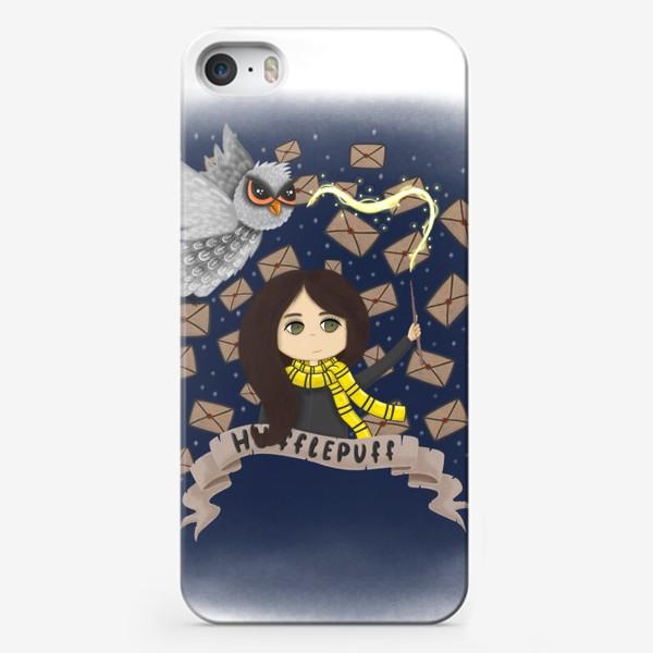 Чехол iPhone «Гарри Поттер. Девочка из Пуффендуй.»