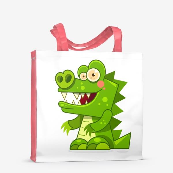 Сумка-шоппер «crocodile»