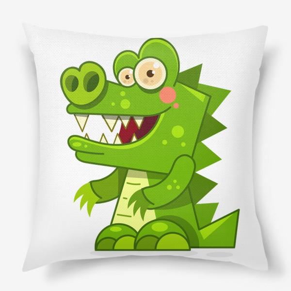 Подушка «crocodile»