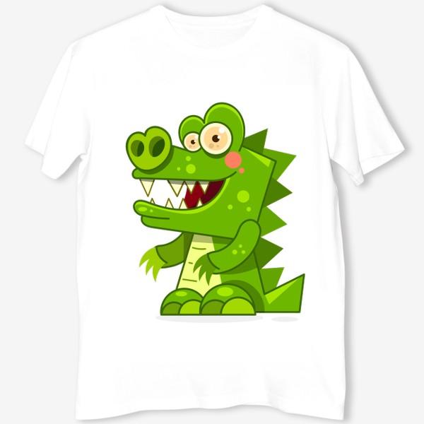Футболка «crocodile»