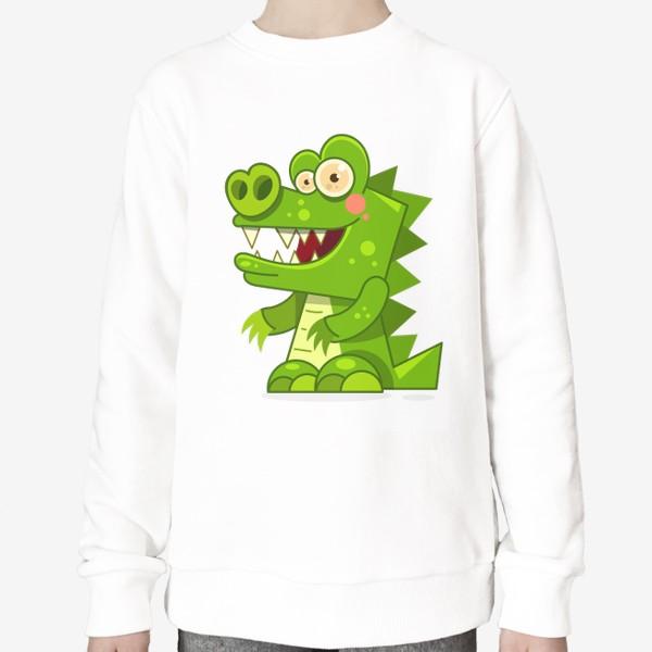 Свитшот «crocodile»