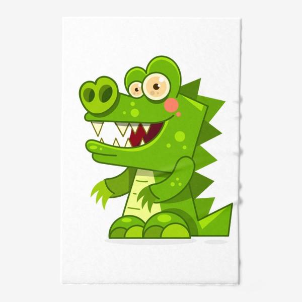 Полотенце «crocodile»