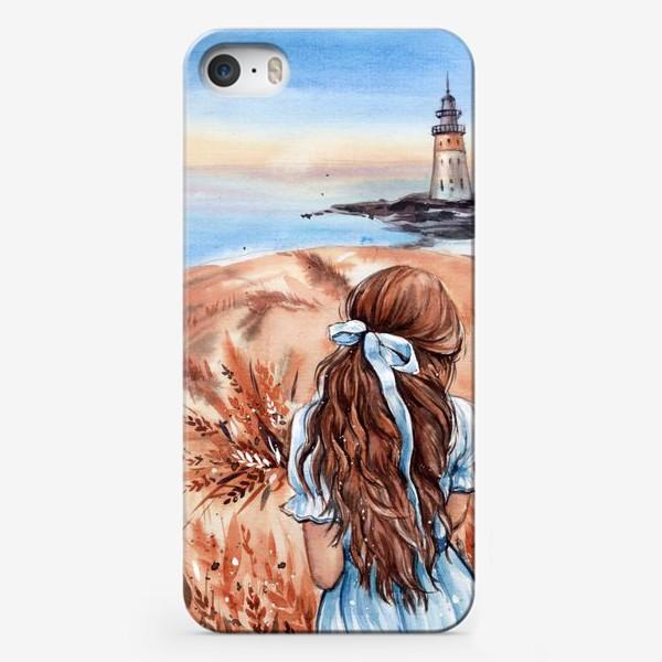 Чехол iPhone «не своди глаз с горизонта»