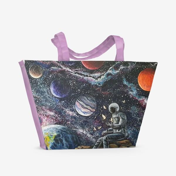 Пляжная сумка «Сестра Млечного пути»