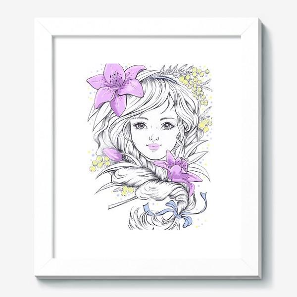 Картина «Лилии. Графика»