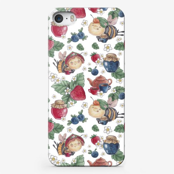 Чехол iPhone «Лесная полянка»