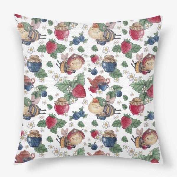 Подушка «Лесная полянка»