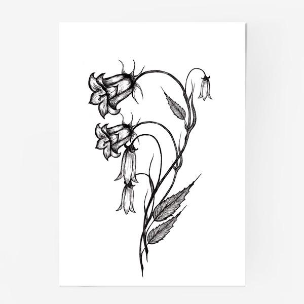 Постер «Колокольчики»