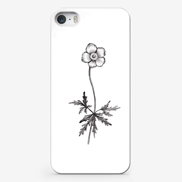 Чехол iPhone «Лютики цветочки...»