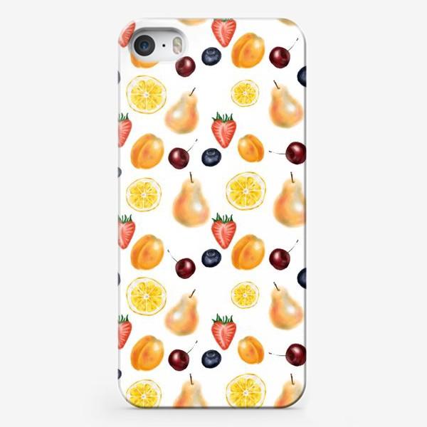 Чехол iPhone «Фруктовый сет»