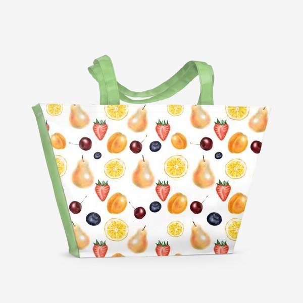 Пляжная сумка «Фруктовый сет»