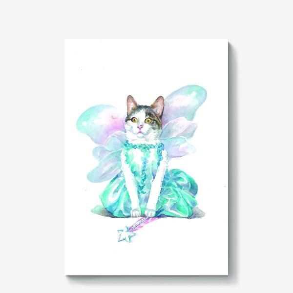 Холст «Кошка Фея»