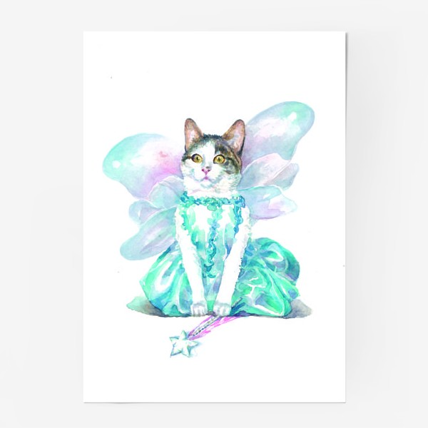 Постер «Кошка Фея»