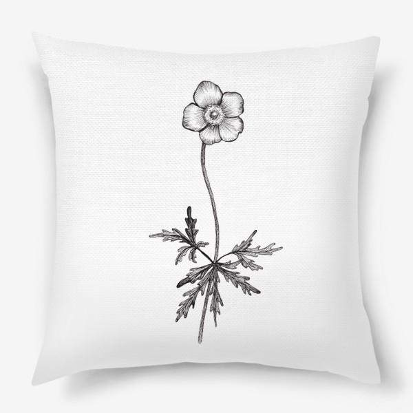 Подушка «Лютики цветочки...»