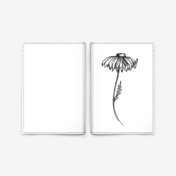 Обложка для паспорта «Ромашки.»