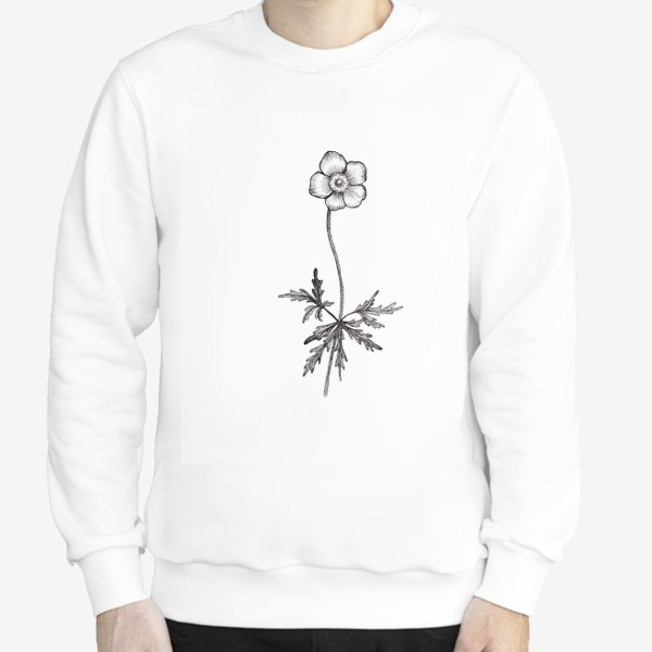 Свитшот «Лютики цветочки...»