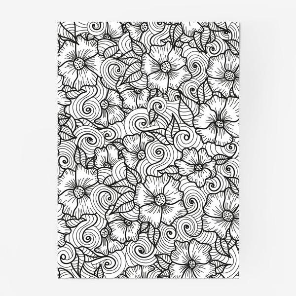 Постер «Цветы (зеатлинг)»