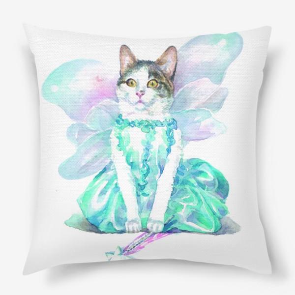 Подушка «Кошка Фея»