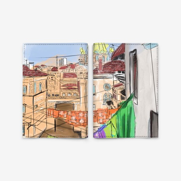 Обложка для паспорта «Улица Севастополя»
