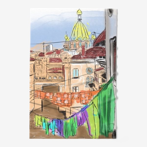 Полотенце «Улица Севастополя»