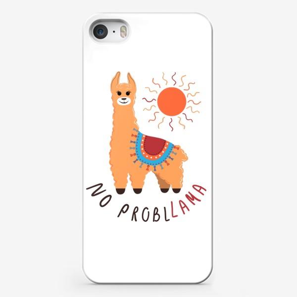 Чехол iPhone «No probllama»