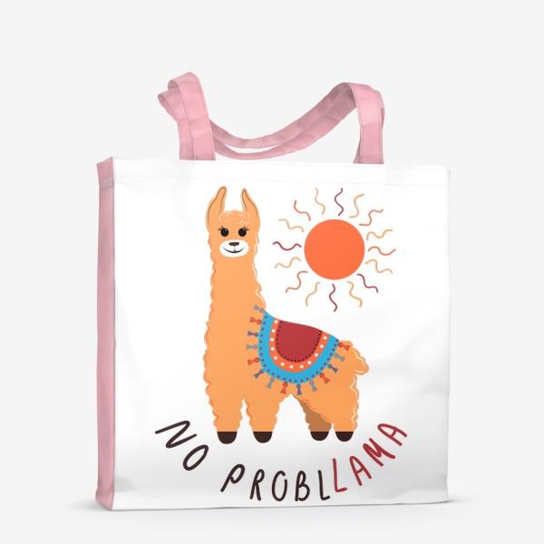 Сумка-шоппер «No probllama»