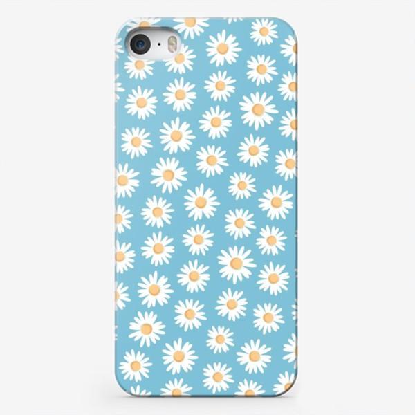 Чехол iPhone «Ромашковое поле»