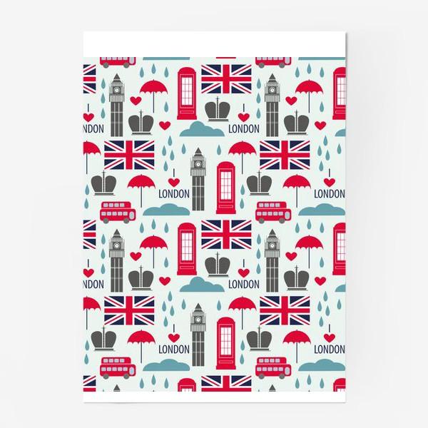 Постер «Паттерн Англия»