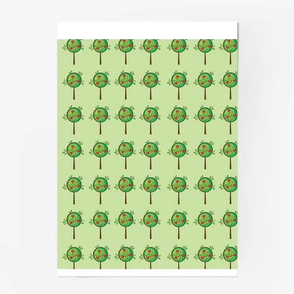 Постер «Яблочный сад»