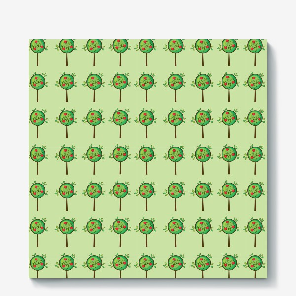 Холст «Яблочный сад»