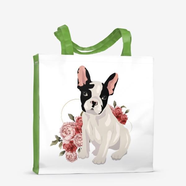 Сумка-шоппер «Собака французский бульдог»