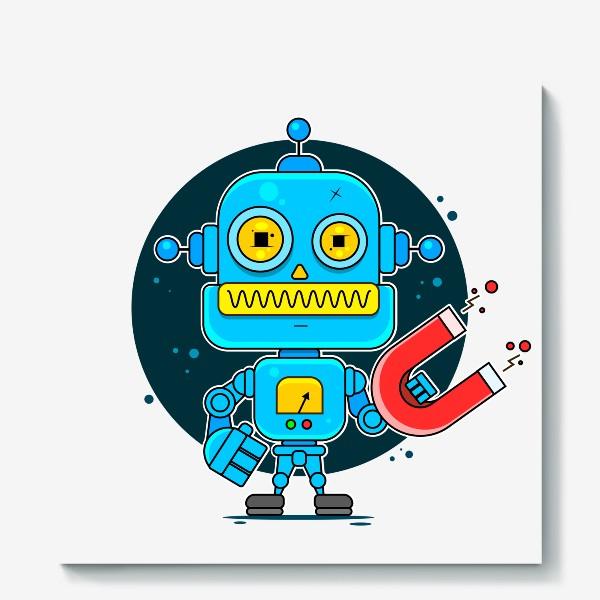 Холст «робот»