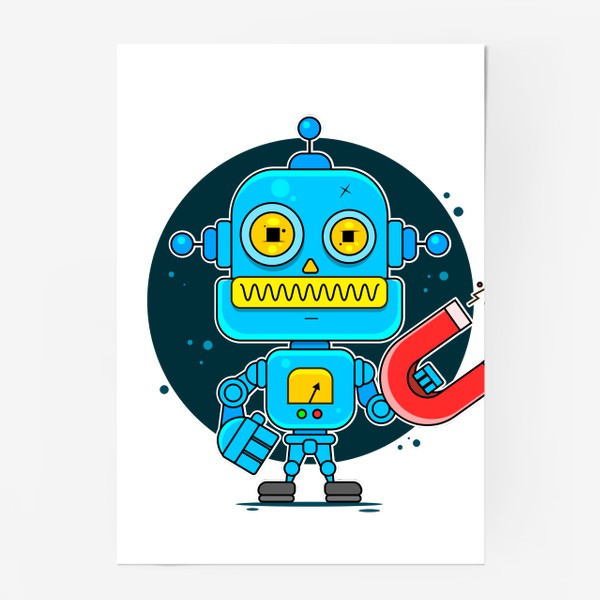 Постер «робот»