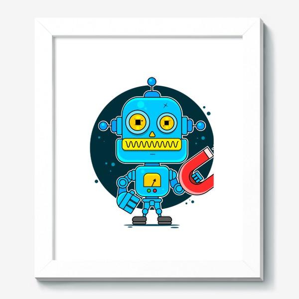Картина «робот»