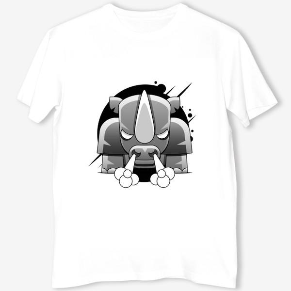 Футболка «носорог»