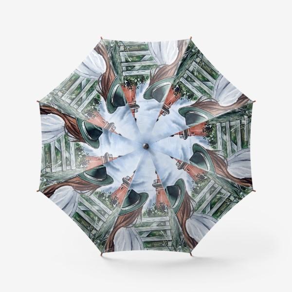 Зонт «перед грозой»